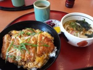 カツ丼+ミニうどん
