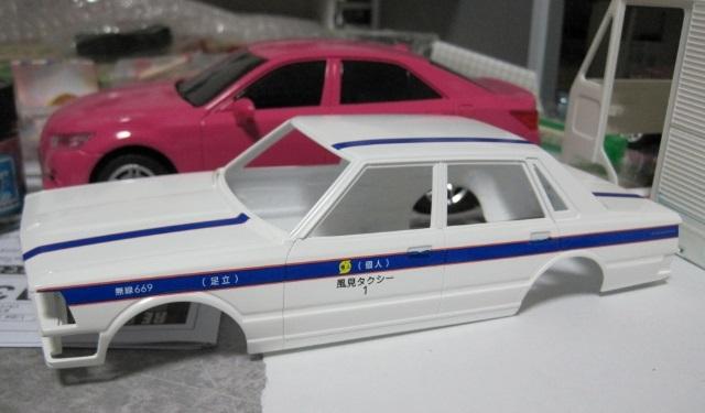 アオシマ 430セダン スタンダード 個人タクシー