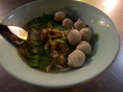 タイ・ロッブリーでの食事9