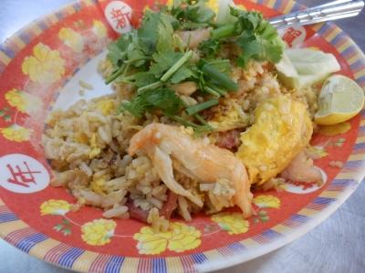 タイ・アユタヤでの食事8