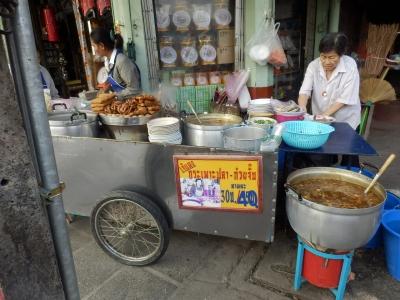 タイ・アユタヤでの食事14