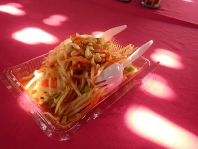 タイ・アユタヤでの食事35