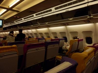 タイ航空「チェンライ→バンコク」4