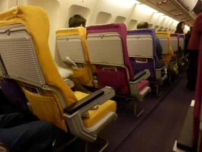 タイ航空「チェンライ→バンコク」6