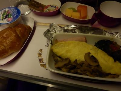 タイ航空「バンコク→成田」4