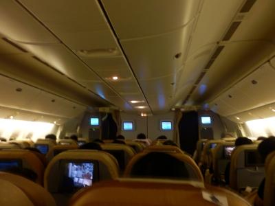 シンガポール航空「SQ635 羽田→シンガポール」1