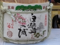 姫路城と日本酒 白鷺入城