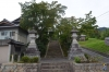 西山春日神社石段