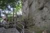 弥谷寺岩壁