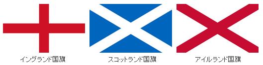 イギリス国旗(3国)