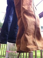 20140807お気に入りパンツ洗濯&干す