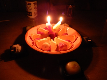 H太君の誕生日は