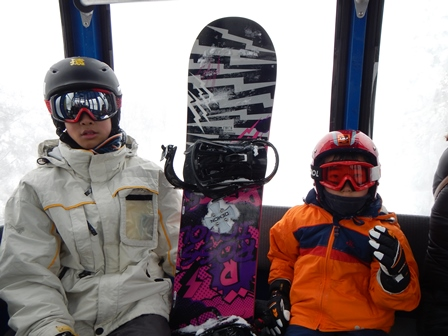 蔵王へスキーに