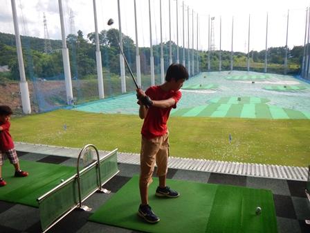 久しぶりのゴルフの