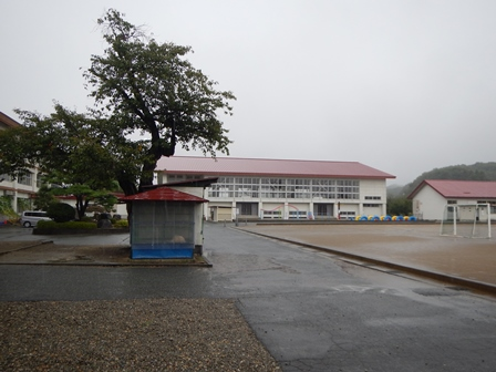 天童の小学校
