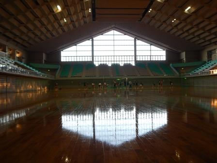 スポセンの体育館