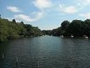 池とボート