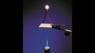 ゼーベック効果による発電機