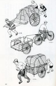 電動アシスト自転車 リヤカー
