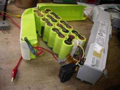 電動アシスト自転車 ニッケル水素電池