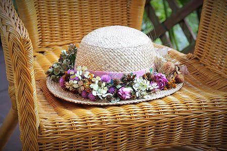 紫外線対策だって可愛くしたい!可愛すぎる『麦わら帽子』リメイク集♡