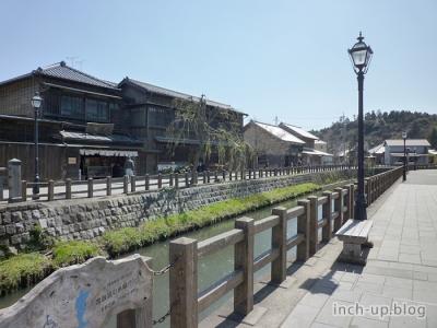 小野川沿いの散歩道