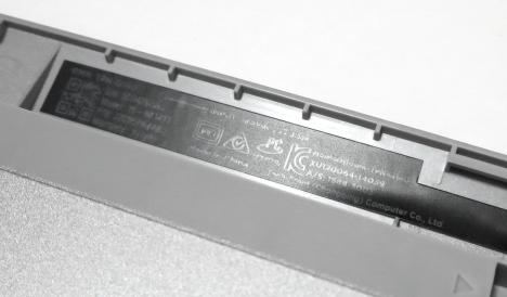 HP ENVY 15-k014TX_リサイクルマーク