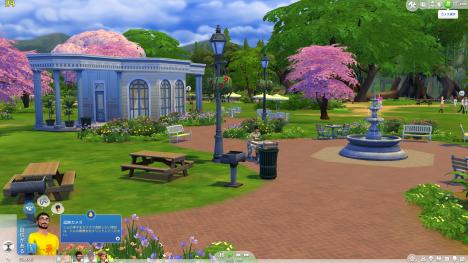 Sims4_風景_フレームレート_01