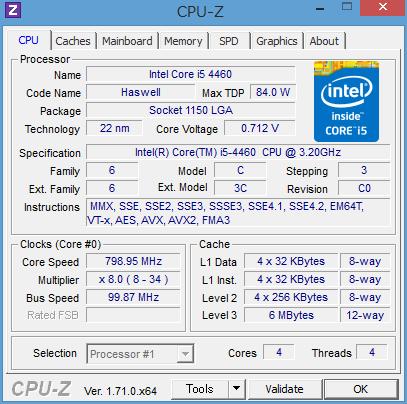 HP Pavilion 500-440jp_i5-4460_CPU-Z_01