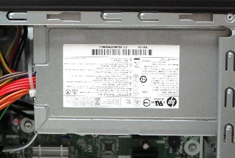 HP Pavilion 500-440jp_電源ユニット