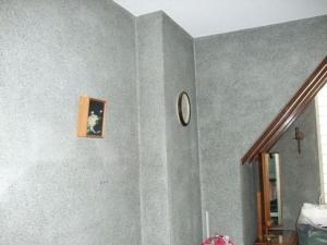 花嫁控室の既存の壁面