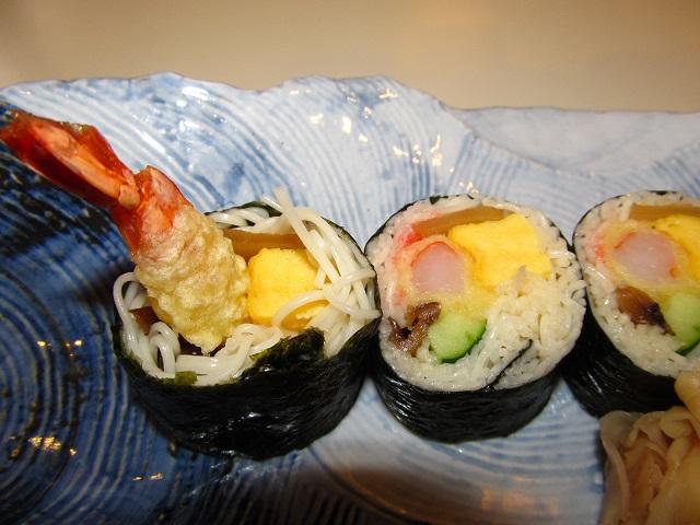 そうめん寿司の002