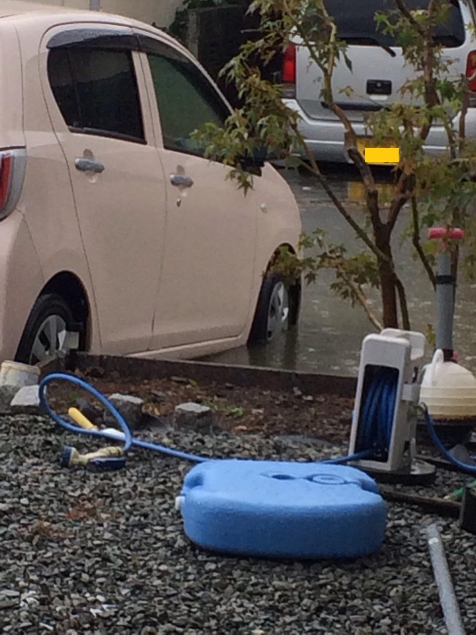 2014年10月18日台風の影響01
