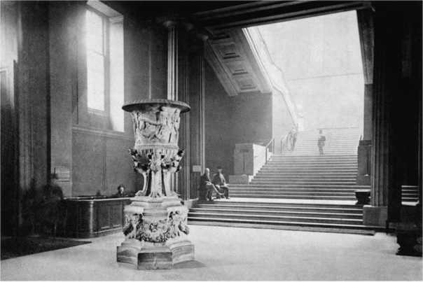 Frederick York, Main Entrance Hall and Grand Staircase, a photograph1875