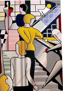 005Roy Lichtenstein, 'Bauhaus Stairway', 1989