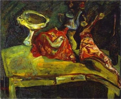Chaim Soutine the-table1919