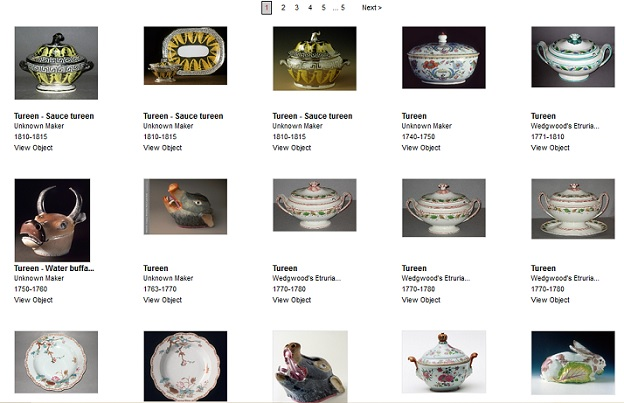 soup tureens collection