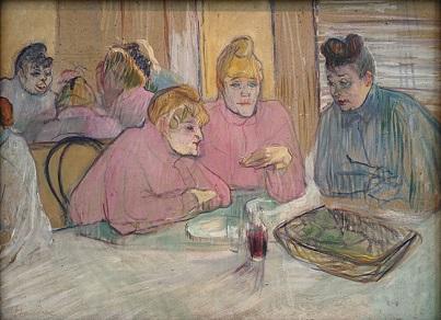 Lautrec『食堂の女性達』