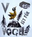 V ist für Vogel,Clive Hicks-Jenkins Alphabet soup2