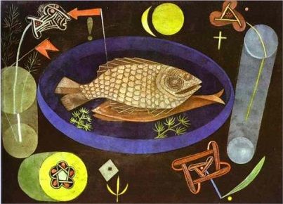 Klee,aroundfish-1926