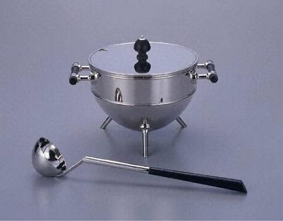 CD,小型蓋付きスープ入れ(レードル付き)1880s