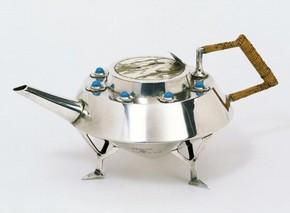 Teapot, Christopher Dresser, 1878.