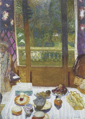 ボナール、Dining Room Overlooking the Garden 1930-31MOMA