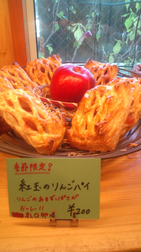 紅玉リンゴパイ1