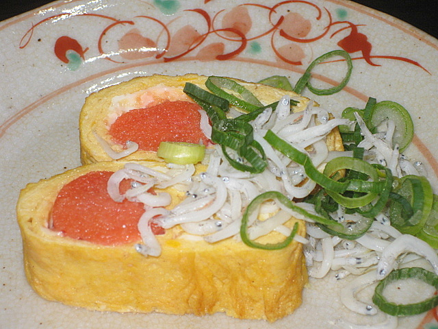 tarako-tamagoyaki