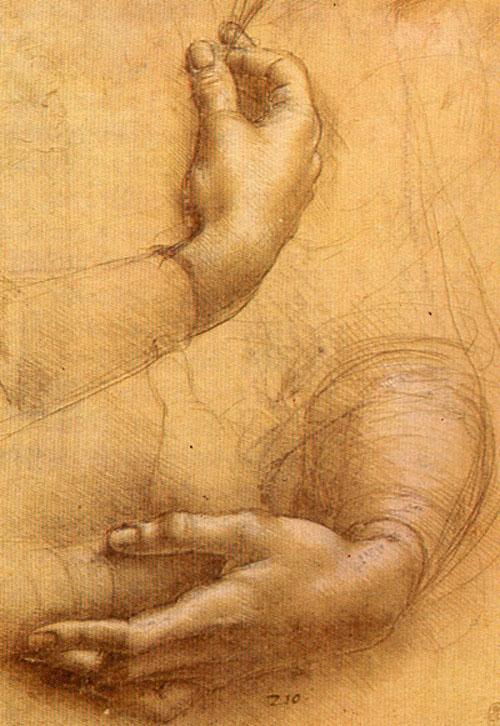 03-ダ・ヴィンチ「ジネヴラ・デ・ベンチの肖像」習作