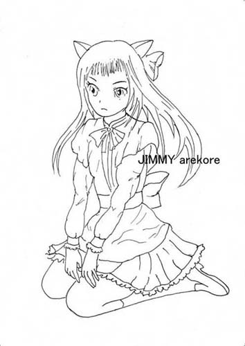 02-Nekomimi girl02 LINE