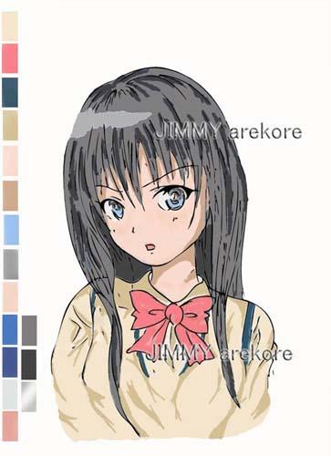 19-aoni黒髪