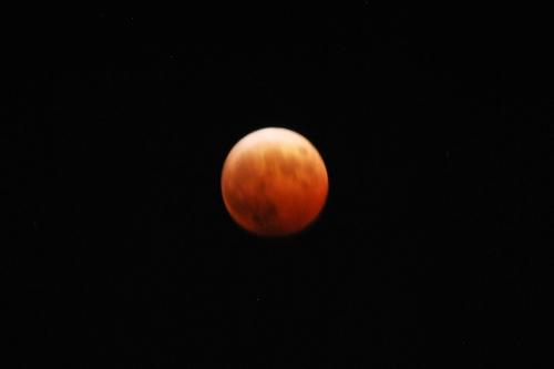ブラッドムーン(Blood moon)