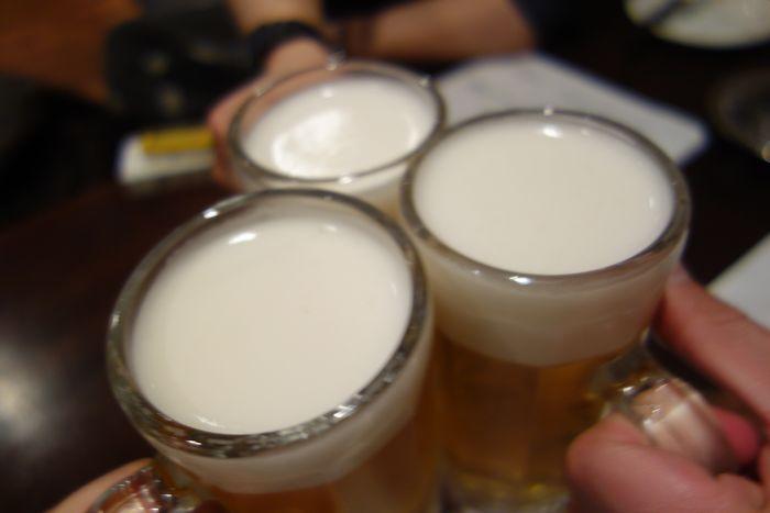 西焼津の夕日 ゴールデン酒場2